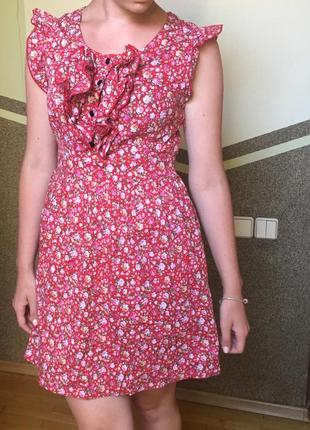 Цветочное платье от apricot
