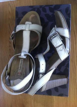 Удобные кожаные босоножки_25,5_lamica_ италия