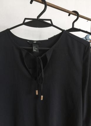 Рубашка шифоновая от h&m блуза