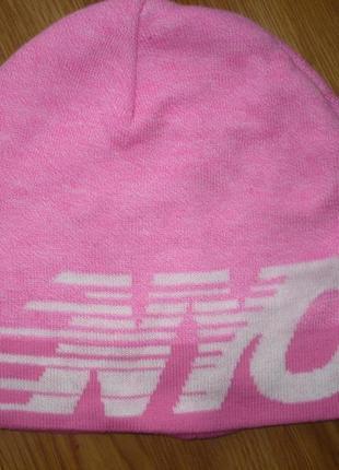 Шапка  спортивная h&m розовая 55-56р.