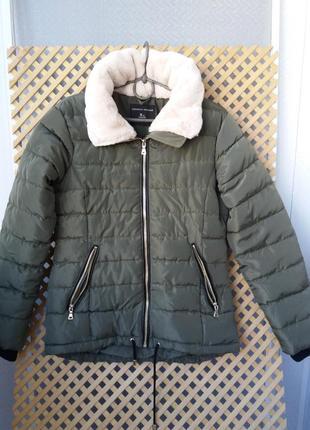 Красивая теплая синтепоновая куртка