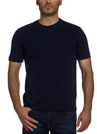 17-51 новая синяя мужская футболка бренд roly, испания размер s, м хлопок