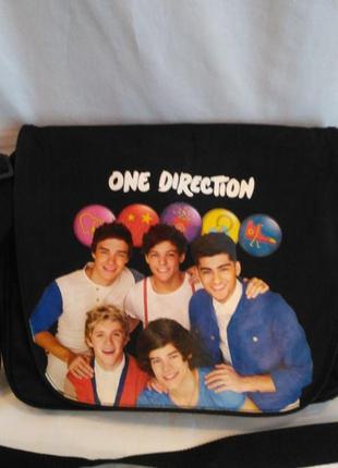 """Очень стильная сумка для школьника """"one direction"""""""