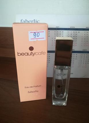 Парфюмерная вода faberlic beauty cafe