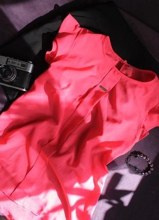 Розовая яркая блуза в школу!