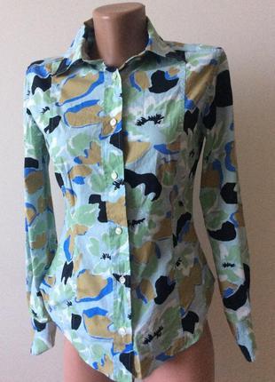 Очень красивая яркая рубашка люкс бренда etro1 фото