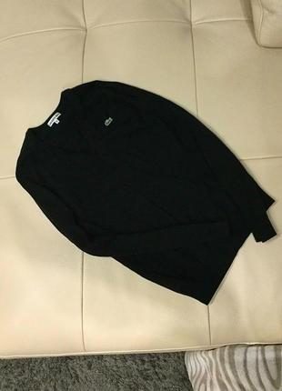 Тоненький шерстяной свитер, реглан, кардиган lacoste, оригинал s-m, скидка!!