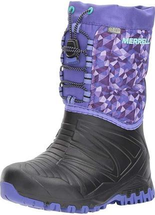 Сапоги merrell snow quest lite waterproof snow boot р. 39
