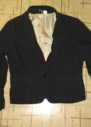 Нарядный укороченный жакет пиджак