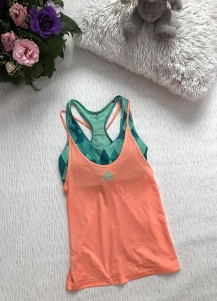 Adidas спортивная майка xs- s размер . оригинал