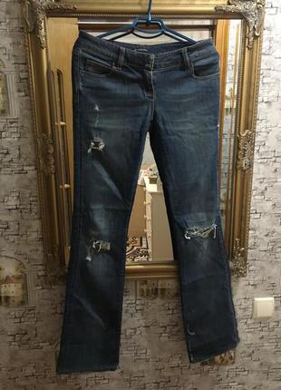 Фирменные стильные джинсы balmain, франция.