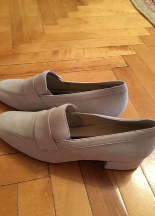 Кожаные туфли hogl 39