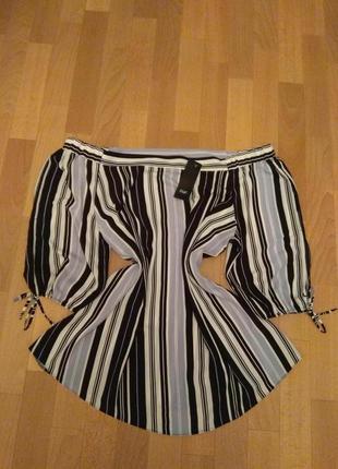 Шикарная блуза, для шикарной леди, размер 20