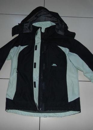 Лыжная термо куртка евро зима trespass 5000  s -44 размер