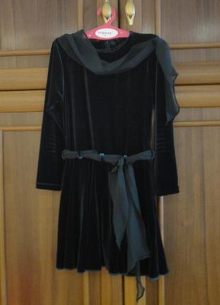 Платье рейтинговое бейсик для бальных танцев велюр