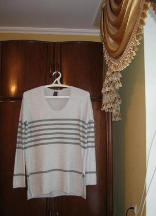 Пуловер оверсайз gap, размер l