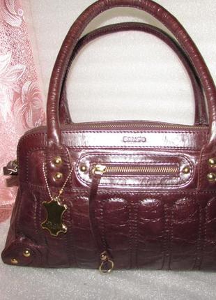 Шикарная стильная сумка ~oriano~ 100% натуральная кожа