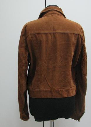 Lee cooper вельветовая коричневая курточка3 фото