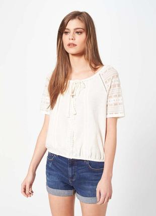 Блуза из хлопка s-m