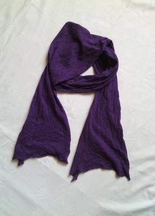 Оригинальный шарф трикотаж легкий
