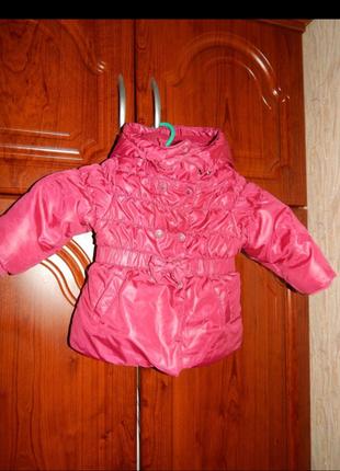 Демисезонная куртка chicco 12мес.