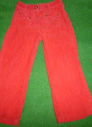 Джинсы,вельветовые брюки тна 3-4 года