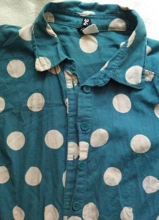 Рубашка в горохи h&m