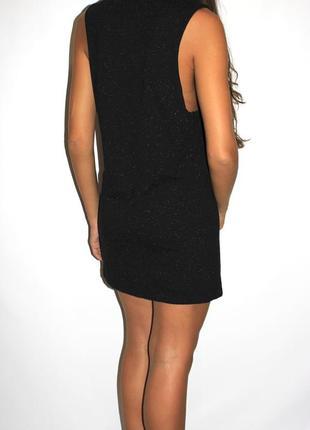 Модное платье, серый меланж -с широкой проймой- 12(s-m)3