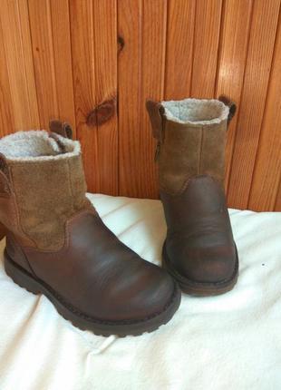 Кожаные ботинки, сапоги timberland