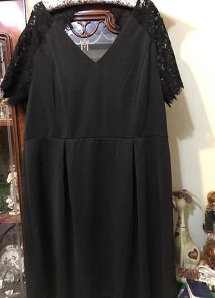 Шикарное нарядное платье большой размер