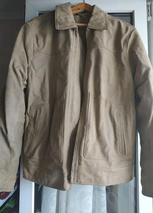 Чоловіча замшева куртка   we ltd