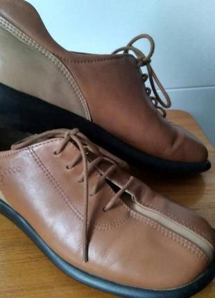 Удобнейшие мокасины#туфли#ботиночки ecco ( 36 р)