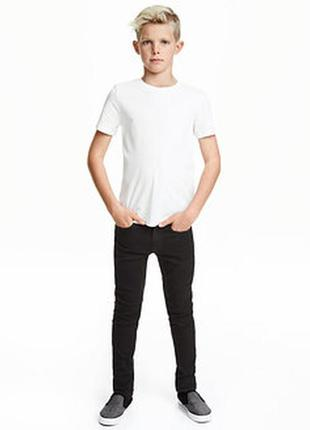 Черные джинсы на подростка, р.170
