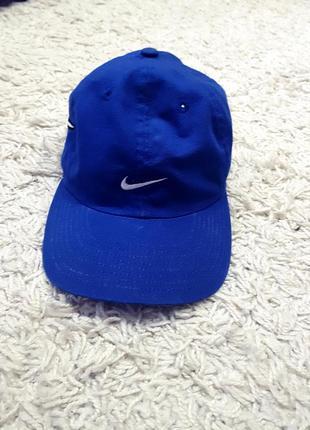 Nike кепка бейсболка новая синяя с логотипом