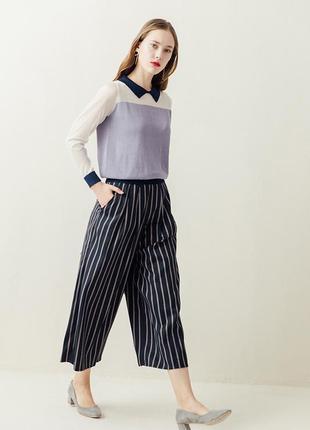Дизайнерские брюки кюлоты miss patina london