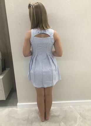 Натуральное летнее платье до девочки