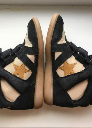 Кроссовки ботинки isabel marant sneakers