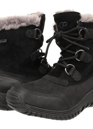 Ботинки на шнуровке с мехом