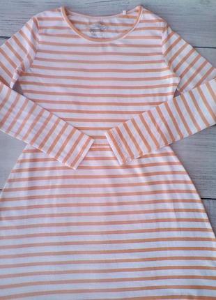 Трикотажное платье 146/152