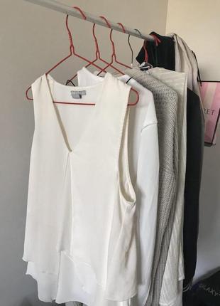 Белая блуза от h&m