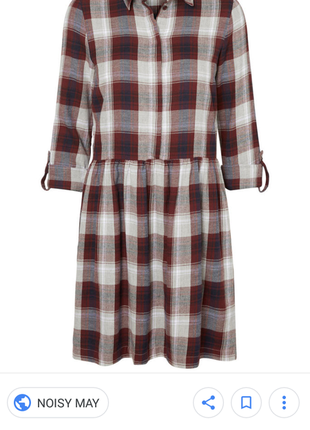 Крутейшее платье-рубашка noisy may