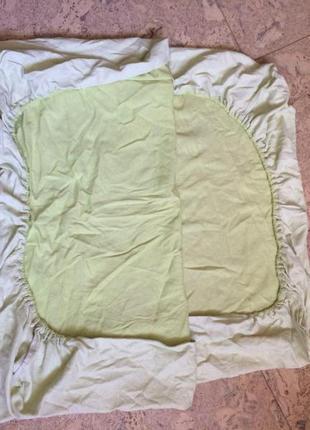 Наматрасник непромокаемый на детскую кроватку от экопупс premium2