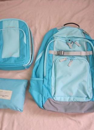 Школьный рюкзак lands´ end + в комплекте ланчбокс и рюкзак для сменки