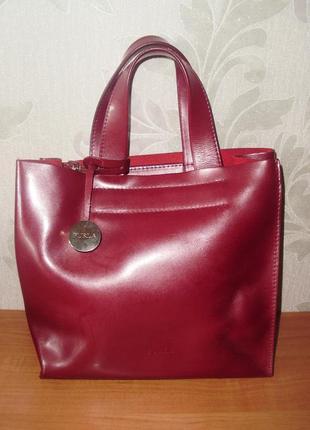 Furla кожаная сумка