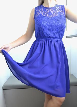 Летнее нарядное короткое платье h&m