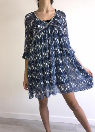 Платье-туника,оверсайс