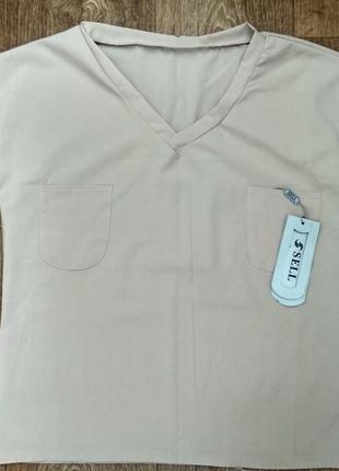 Блузка креп шифон