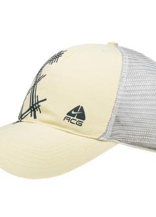 Оригинал бейсболка спортивная унисекс nike acg woven trucker cap  размер ед.