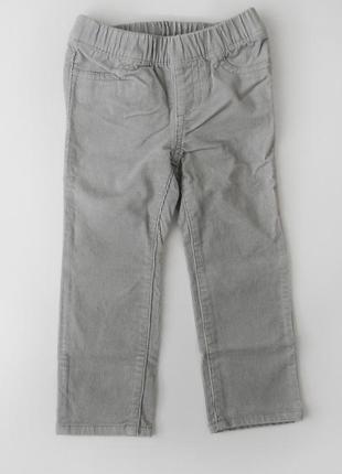 Вельветовые штаны скинни  crazy 8 2т размер, рост 84-91,5 см
