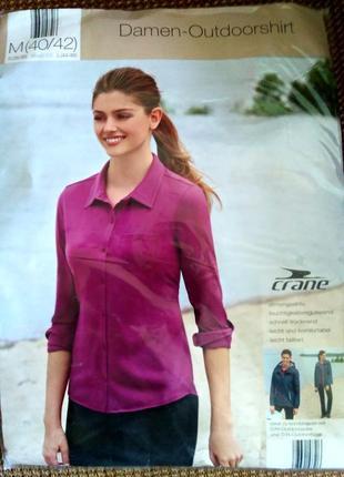 Рубашка блуза трикотаж р.s 36-38 crane германия